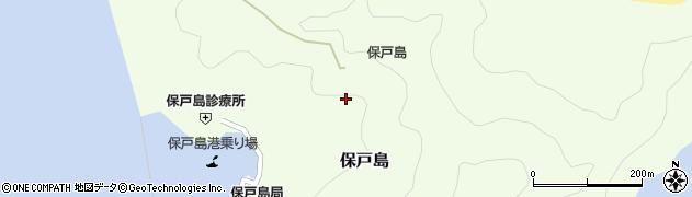 大分県津久見市保戸島1297周辺の地図