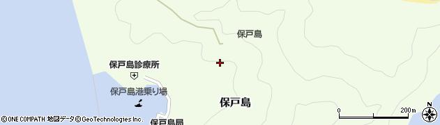 大分県津久見市保戸島1298周辺の地図