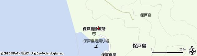 大分県津久見市保戸島883周辺の地図