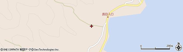 大分県津久見市長目684周辺の地図