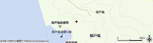 大分県津久見市保戸島1098周辺の地図