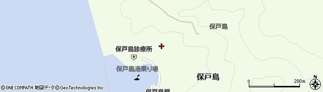 大分県津久見市保戸島1110周辺の地図