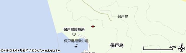 大分県津久見市保戸島1096周辺の地図