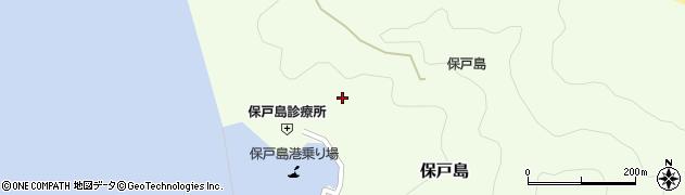 大分県津久見市保戸島978周辺の地図