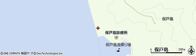 大分県津久見市保戸島856周辺の地図