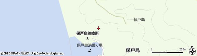大分県津久見市保戸島956周辺の地図