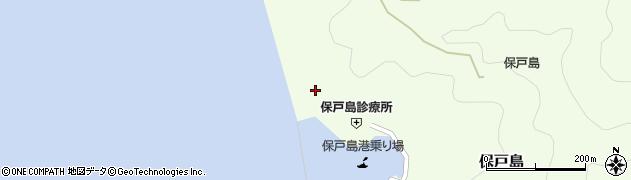 大分県津久見市保戸島863周辺の地図