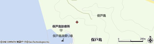 大分県津久見市保戸島984周辺の地図