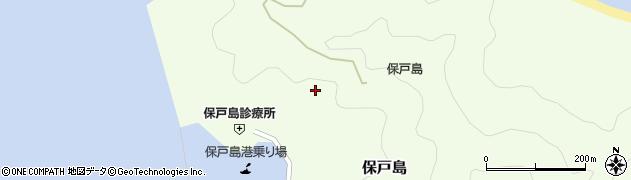 大分県津久見市保戸島986周辺の地図