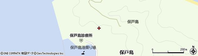 大分県津久見市保戸島998周辺の地図
