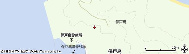 大分県津久見市保戸島987周辺の地図