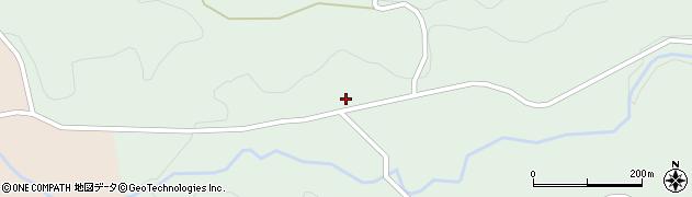 大分県竹田市直入町大字上田北2901周辺の地図