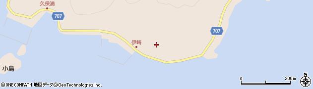 大分県津久見市長目2280周辺の地図