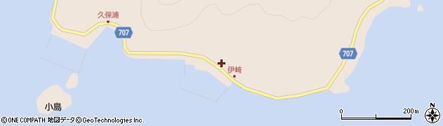 大分県津久見市長目2210周辺の地図