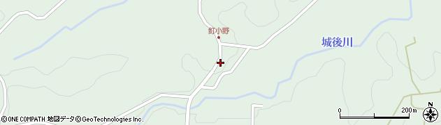 大分県竹田市直入町大字上田北2782周辺の地図