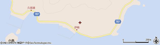 大分県津久見市長目2221周辺の地図