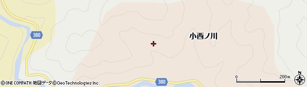 高知県四万十市大西ノ川石淵周辺の地図