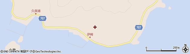 大分県津久見市長目2222周辺の地図
