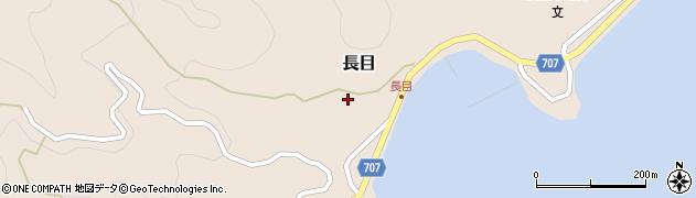 大分県津久見市長目1558周辺の地図