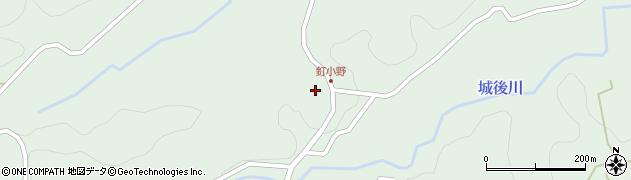 大分県竹田市直入町大字上田北2774周辺の地図