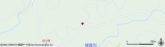 大分県竹田市直入町大字上田北2620周辺の地図