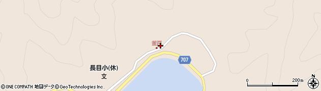 大分県津久見市長目1843周辺の地図