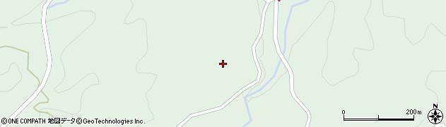 大分県竹田市直入町大字上田北3601周辺の地図