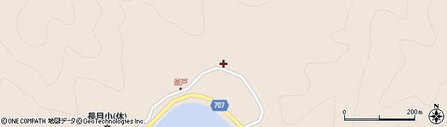 大分県津久見市長目2714周辺の地図
