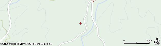 大分県竹田市直入町大字上田北3605周辺の地図