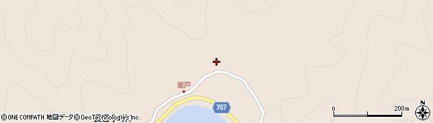大分県津久見市長目1881周辺の地図
