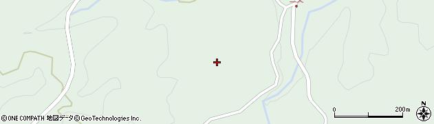 大分県竹田市直入町大字上田北二又周辺の地図