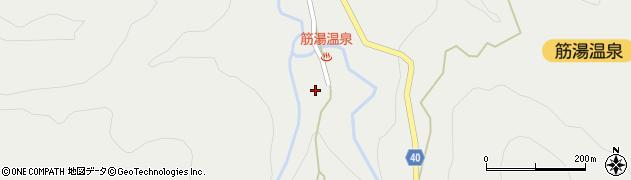 大分県玖珠郡九重町湯坪653周辺の地図