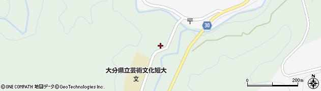 大分県竹田市直入町大字上田北2008周辺の地図