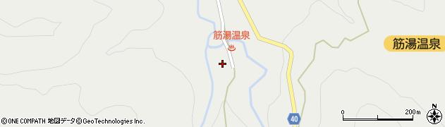 大分県玖珠郡九重町湯坪659周辺の地図