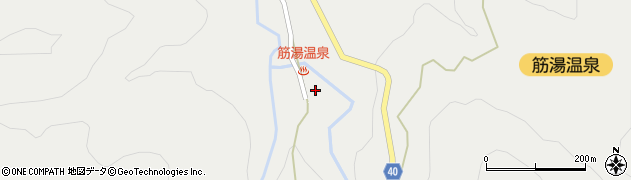 大分県玖珠郡九重町湯坪629周辺の地図