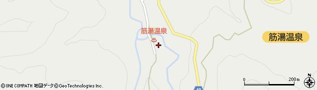 大分県玖珠郡九重町湯坪637周辺の地図