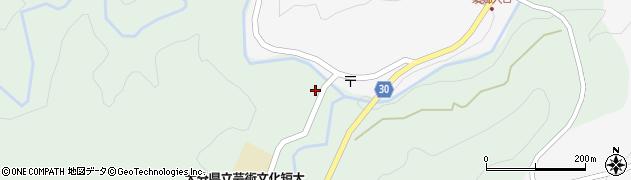 大分県竹田市直入町大字上田北2007周辺の地図