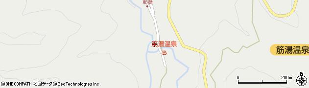 大分県玖珠郡九重町湯坪672周辺の地図