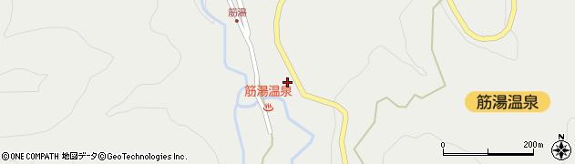大分県玖珠郡九重町湯坪638周辺の地図