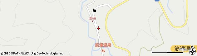 大分県玖珠郡九重町湯坪712周辺の地図