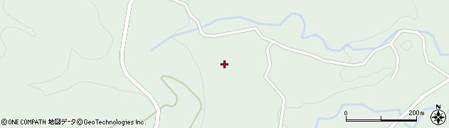 大分県竹田市直入町大字上田北4857周辺の地図