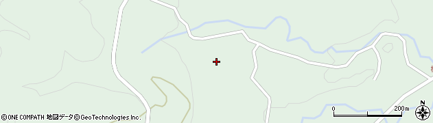 大分県竹田市直入町大字上田北4860周辺の地図