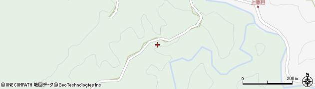 大分県竹田市直入町大字上田北2156周辺の地図