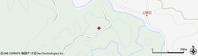 大分県竹田市直入町大字上田北2121周辺の地図