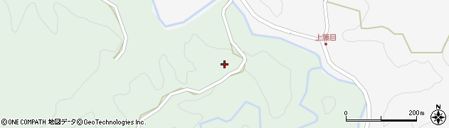 大分県竹田市直入町大字上田北2120周辺の地図