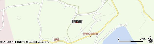 長崎県佐世保市野崎町周辺の地図