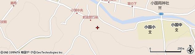 観正寺周辺の地図