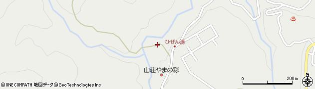 大分県玖珠郡九重町湯坪518周辺の地図