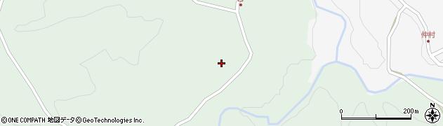 大分県竹田市直入町大字上田北4224周辺の地図