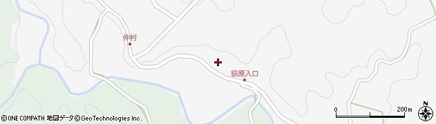 大分県竹田市直入町大字下田北3253周辺の地図